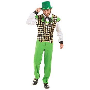 Costume 'Fête de la Saint Patrick' pour hommes, vert multicolore