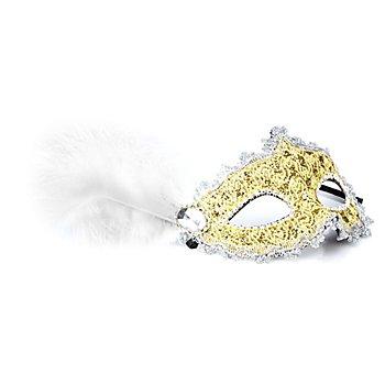 Maske 'Venezia', gold/silber