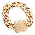 HipHop Armband, gold