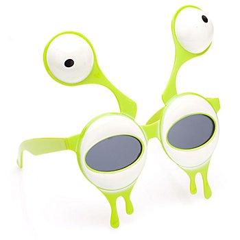 Brille Alien, grün