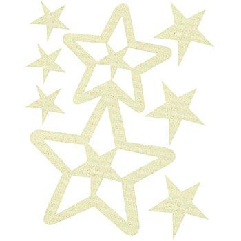 Set de bijoux de cheveux 'Stella', blanc