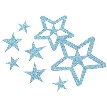 Set de bijoux de cheveux 'Stella', bleu
