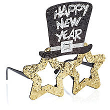 Silvester Brille 'Happy New Year'