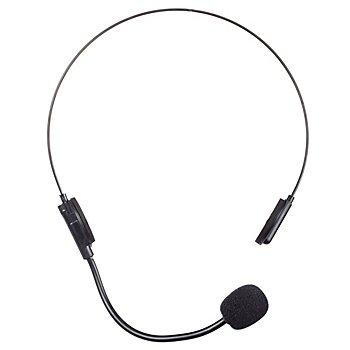 Faux casque audio, noir
