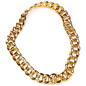 Gliederkette, gold