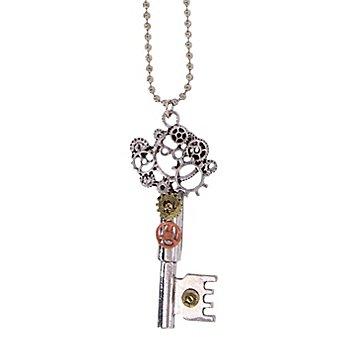 Steampunk Kette 'Schlüssel'