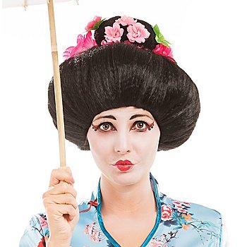 Perücke 'Geisha'