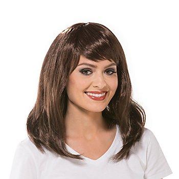 Perücke 'Katy', dunkelbraun