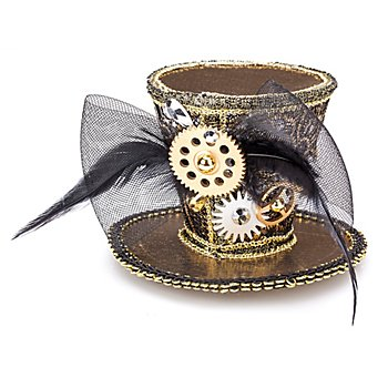 Steampunk Mini-Hütchen