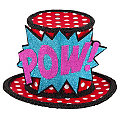 "buttinette Mini-Hütchen Pop Art ""Pow!"""