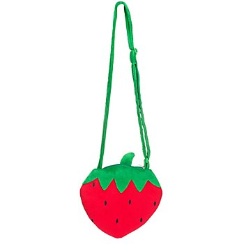 buttinette Sac 'fraise', rouge