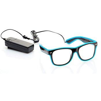 LED-Brille, blau