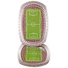 Pappteller 'Fußball', 18 x 27 cm, 8 Stück