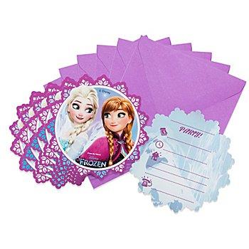 Einladung 'Frozen', 6 Stück