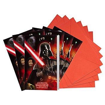 Einladung 'Star Wars', 6 Stück