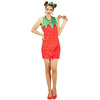 buttinette Erdbeere Kostüm 'Sweety' für Damen
