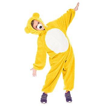 buttinette Bärchen Kostüm für Kinder, gelb