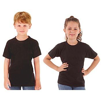 Shirt Kinder, schwarz