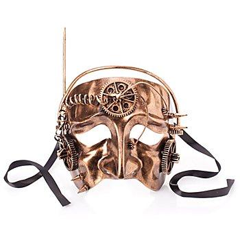 Steampunk Maske 'Stream'