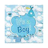 """Papierserviette """"It's a Boy"""", 25 x 25 cm, 20 Stück"""