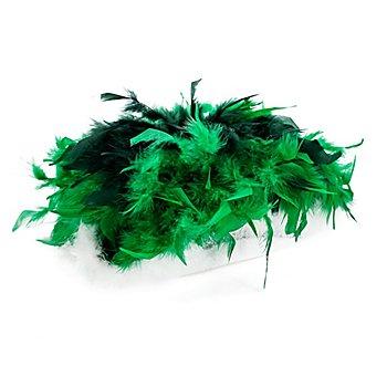 Gardehut mit Federn, grün/dunkelgrün