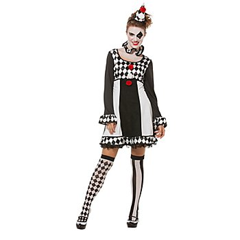 Pierrot Kleid für Damen