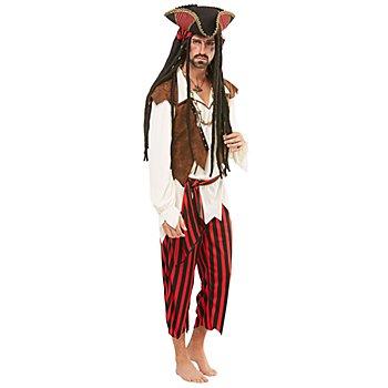 Piratenkostüm 'Edward' für Herren