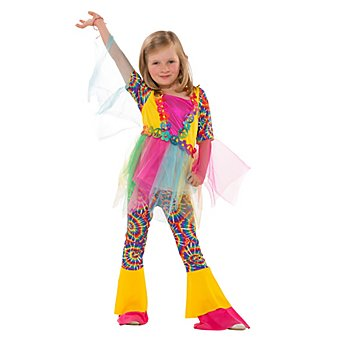 Hippie-Kostüm 'Batik' für Kinder