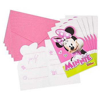Einladung 'Minnie', 6 Stück