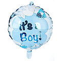 "Folienballon ""It´s a Boy"", Ø 43 cm"