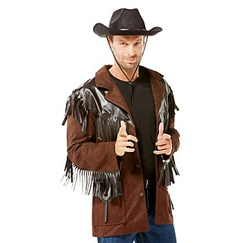 Gilet de cowboy, marron