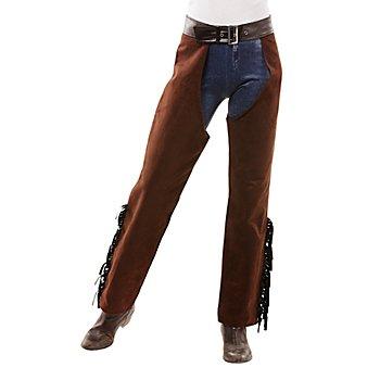 Cowgirl-Chaps 'Wild West' für Damen, braun