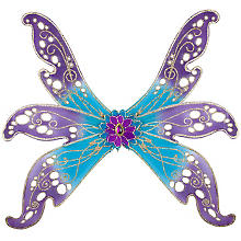 Feenflügel, lila/blau