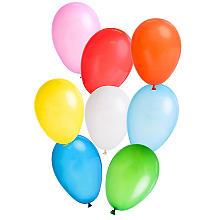 Set de 100 ballons de baudruche, multicolore