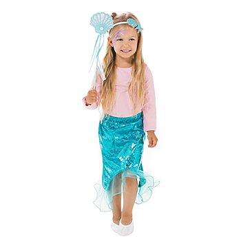 Set 'sirène' pour enfants, bleu/turquoise
