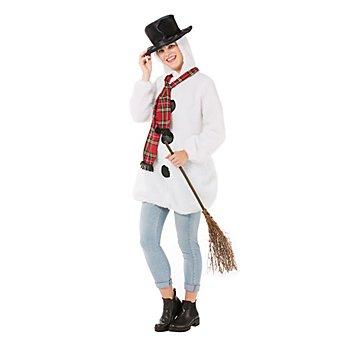 Schneemann-Kostüm für Damen