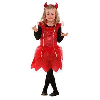 Robe 'diable' pour enfants, rouge