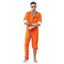 County-Jail-Kostüm für Herren
