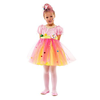 Robe 'Candy Girl' pour enfants, rose/jaune