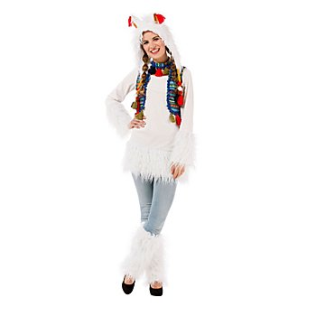 Lama-Kleid für Damen