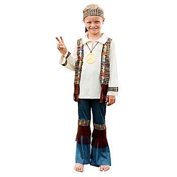 Hippie-Kostüm 'Love & Peace' für Jungen