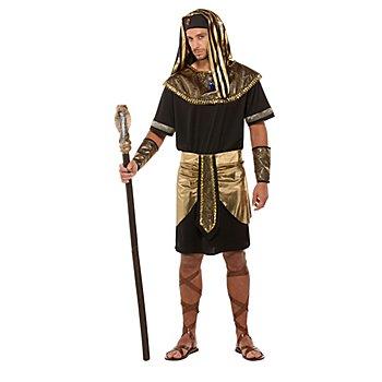 Déguisement 'égyptien' pour hommes, noir/or