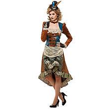Steampunk-Kleid 'Victory' für Damen