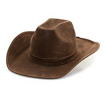 Chapeau de cowboy 'Far West', marron
