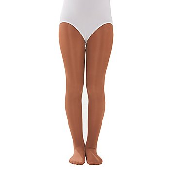 buttinette Collants de danse pour enfants, 60 deniers, sumatra