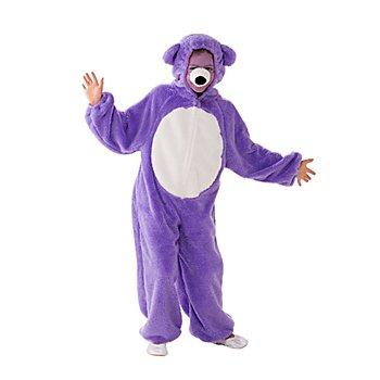 buttinette Bärchen Kostüm für Kinder, lila