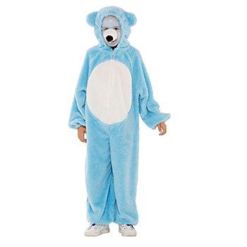 buttinette Bärchen Kostüm für Kinder, hellblau