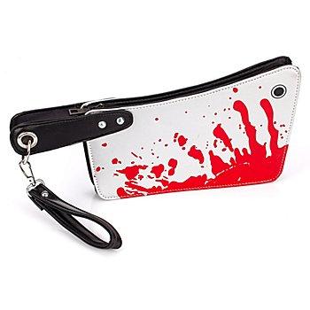 Blutbeschmierte Tasche 'Beil'