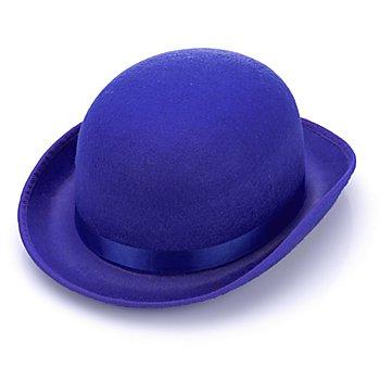 Chapeau melon 'clown', bleu