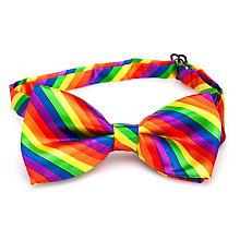 Nœud papillon 'arc-en-ciel', multicolore
